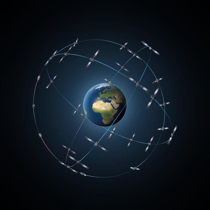 Satellite Galileo constellation - via www.esa.int