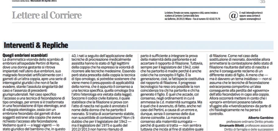 GambinoBilottiCorriere30aprile2014