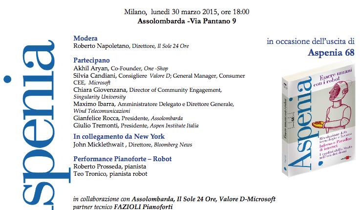 Giovani E Robot_Milano