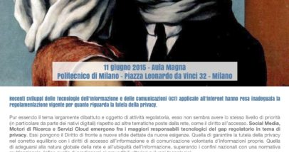LocandinaTutela Della Privacy 2 0_11 Giugno