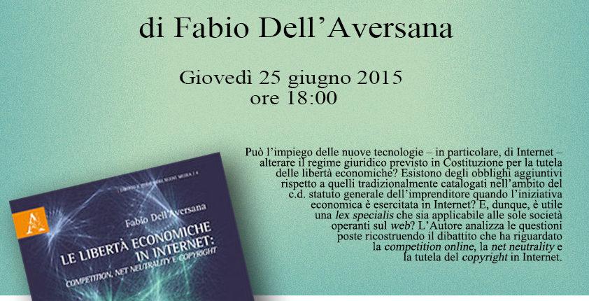 Locandina Presentazione Libro - 25 Giugno 2015 - Scienze Politiche Federico II