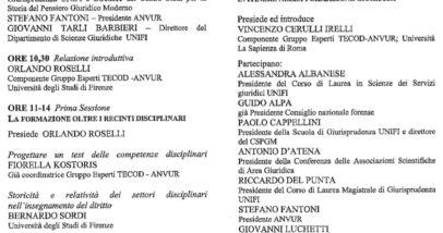 Seminario 29 Giugno Firenze