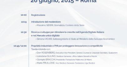 Programma 26 Giugno 2015
