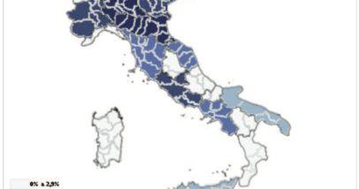 Distribuzione Delle Startup Innovative Nelle Regioni Italiane