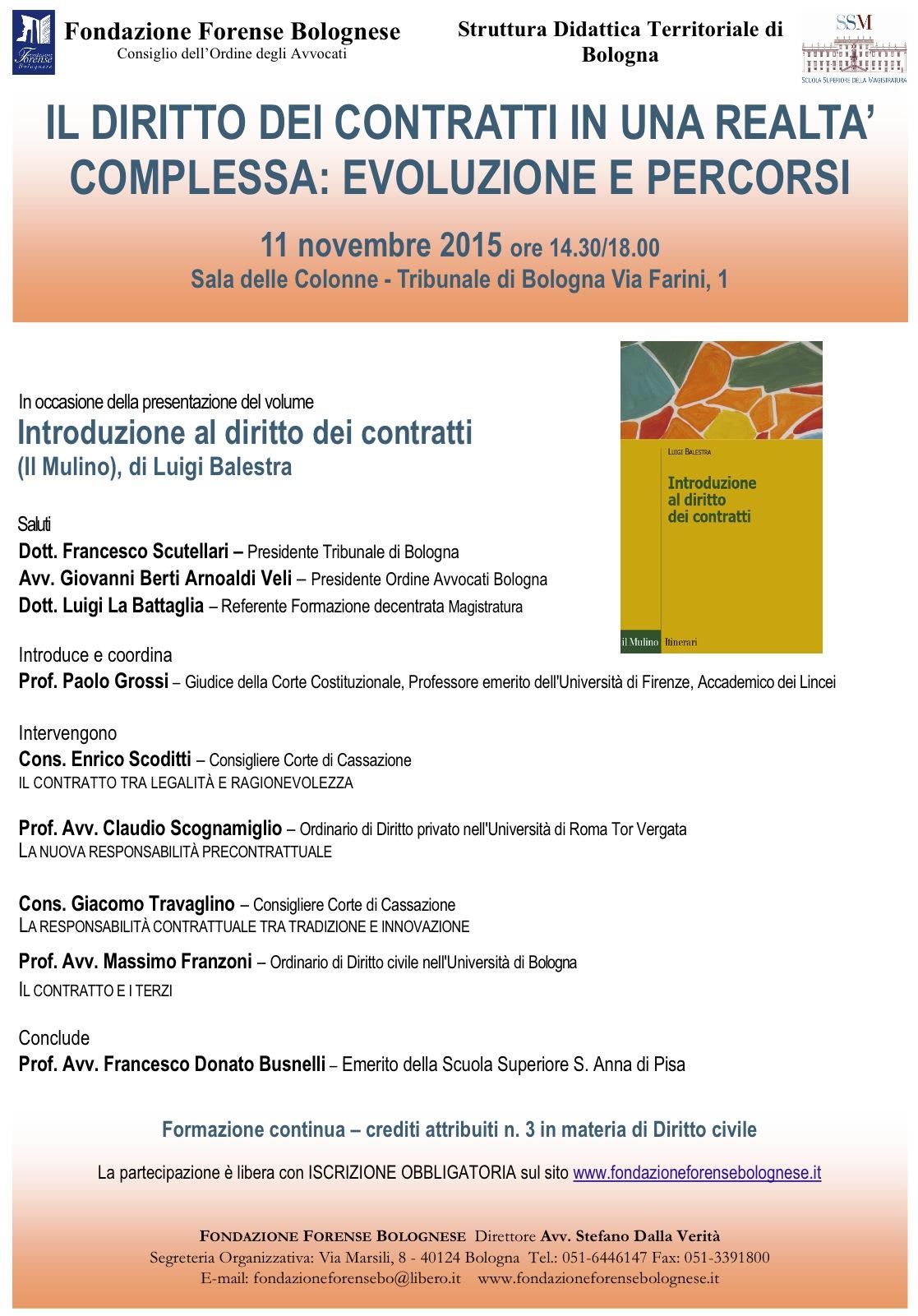 Bologna 11 novembre 2015