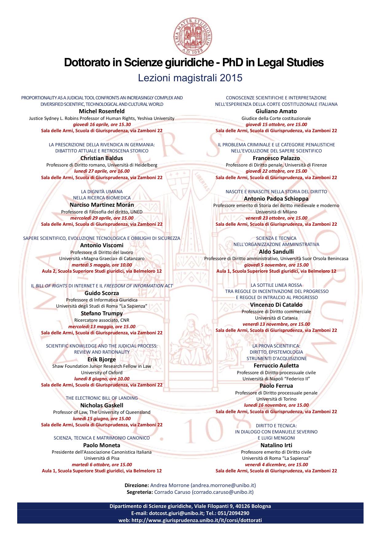 lezioni 2015-DottScienzeGiuridiche