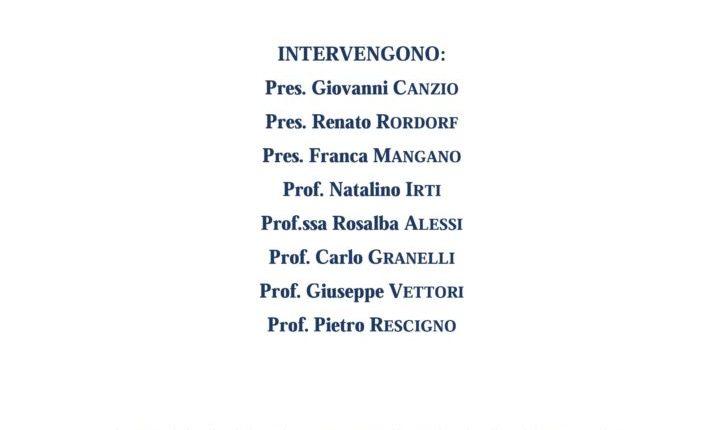 """""""Nuovo Diritto Civile"""", La Rivista Giuridica Verrà Presentata A Roma Il Prossimo 15 Dicembre"""