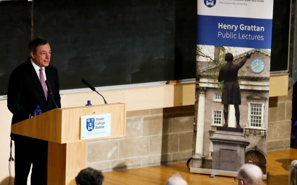 Cyber Attacchi E Blockchain: Il Discorso Di Mario Draghi Al Trinity College Di Dublino