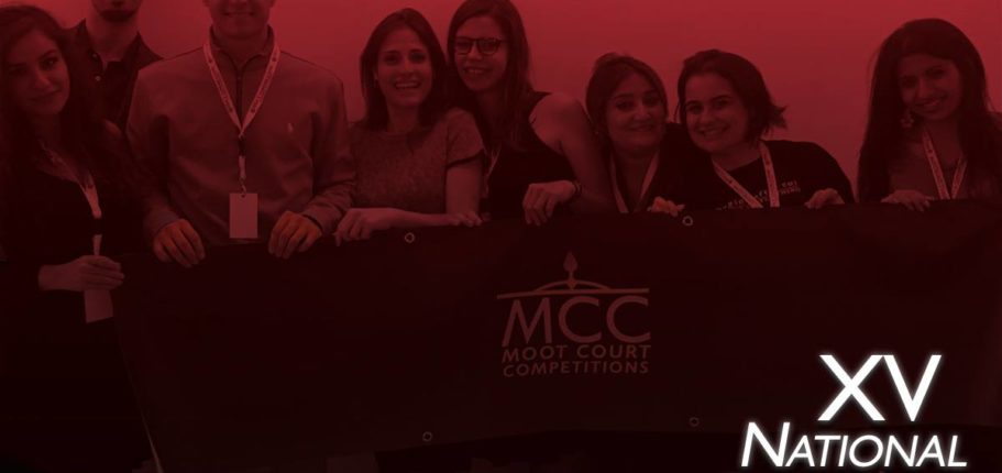 La XV National Moot Court Competition