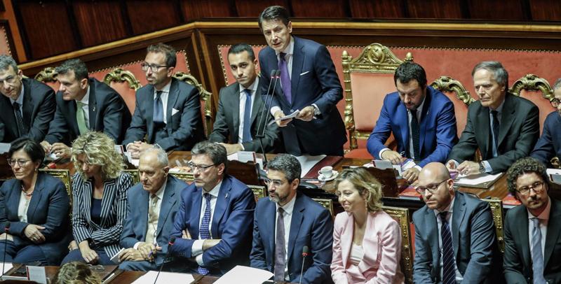 """Il Presidente Del Consiglio Conte In Senato: """"Internet Diritto Fondamentale, Ma Privacy Va Difesa"""""""