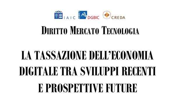 La Tassazione Dell'economia Digitale Tra Sviluppi Recenti E Prospettive Future