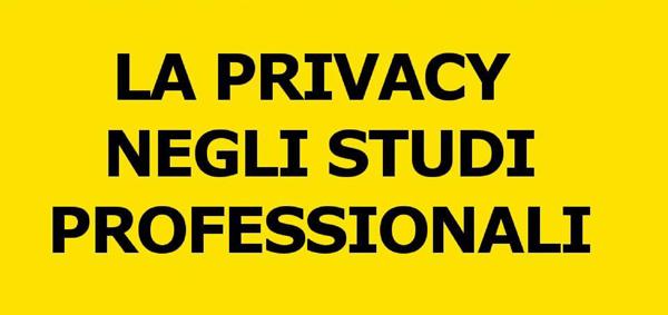 La Privacy Negli Studi Professionali. Schemi Riepilogativi E Consigli Pratici Per Gli Adempimenti